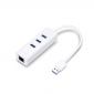 ADAP. USB 3.0+HUB A RED GIGABIT TPLINK UE330