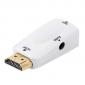 ADAPTADOR HDMI M / VGA H + AUDIO