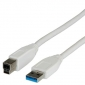 CABLE USB 3.0 TIPO A - B 1,8 METROS