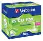 CD-RW VERBATIM CAJA 10 UNIDADES (LPI 1,00 no inc)
