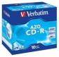 CD-R VERBATIM CAJA 10 UNIDADES (LPI 0,80 no inc)