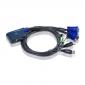 CONMUTADOR ATEN CS62US 2 PC'S 1 TEC USB / 1 MON AUTOM.
