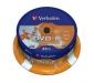 DVD-R PRINTABLE VERBATIM BOBINA  25 UNIDADES (LPI 5,25 no inc)