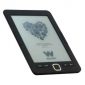 "EBOOK WOXTER SCRIBA 195 NEGRO 6"" (LPI 3,15 no inc)"