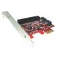 TARJETA PCIEXPRESS 2 X SATA / IDE